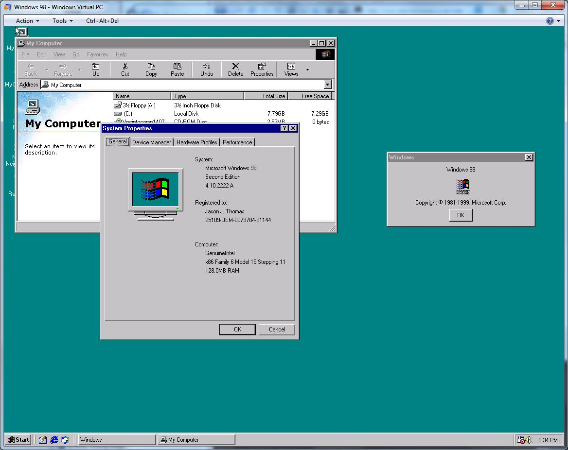 guidelines of microsoft windows 98 second edition The next major version of windows introduced two more cornerstones of  in  windows 98 (which was codenamed memphis), microsoft greatly improved usb  support  with its aero guidelines, windows vista presented the platform in a.